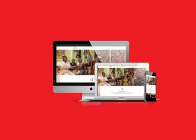 Maroon awmoni - webdesign