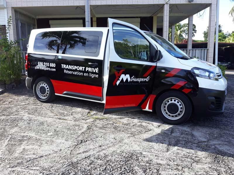 marquage véhicule y2m transports