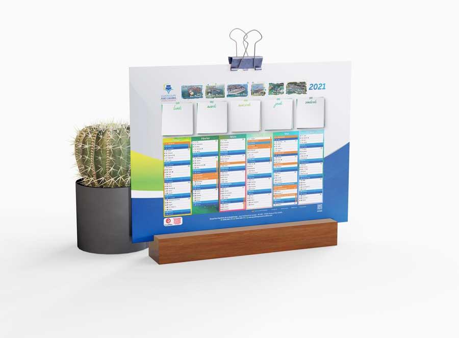 calendrier port autonome